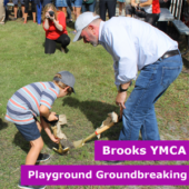 Brooks YMCA Groundbreaking