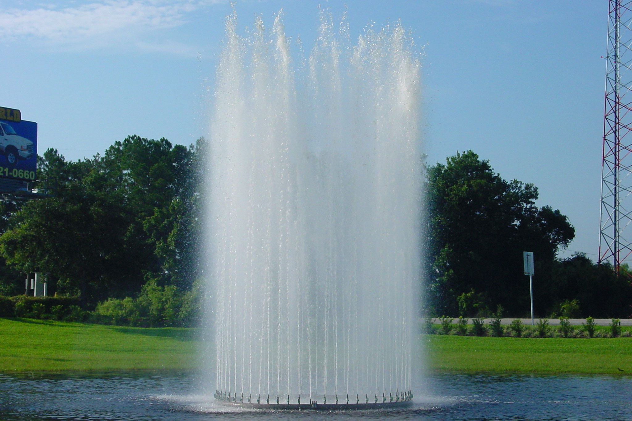 Large Pond Floating Fountain