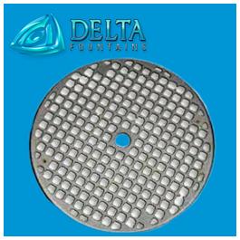 Manufactured and Designed Metal Round Grate