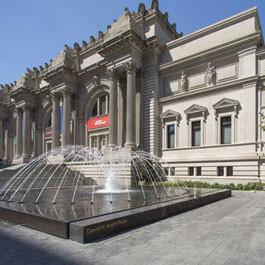 Metropolitan Museum Olin Delta Fountains
