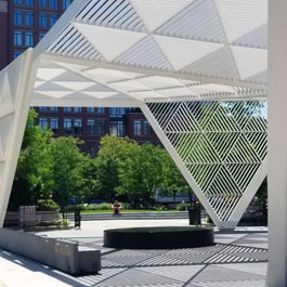 NYC AIDS Memorial Park | Delta Fountains