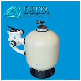 Sand Filter with manual backwash valve