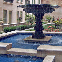 The Plaza Hotel Courtyard