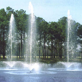 Trumpet-Jet Fountains