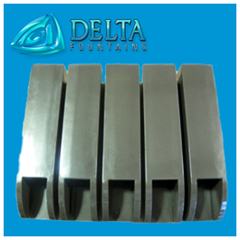 Tube Style Scuppers Delta Fountains
