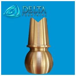 V Jet Fountain Nozzle Delta Fountains